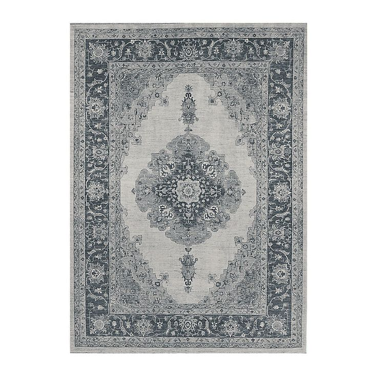 Gray Parisa 2-pc. Washable Area Rug, 5x7 | Kirklands