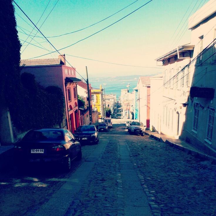 Streets of Valparaíso