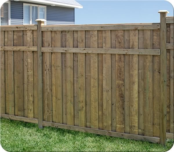 Linden Lea Cedar Fence with Laurence Board Pattern| Fence-All
