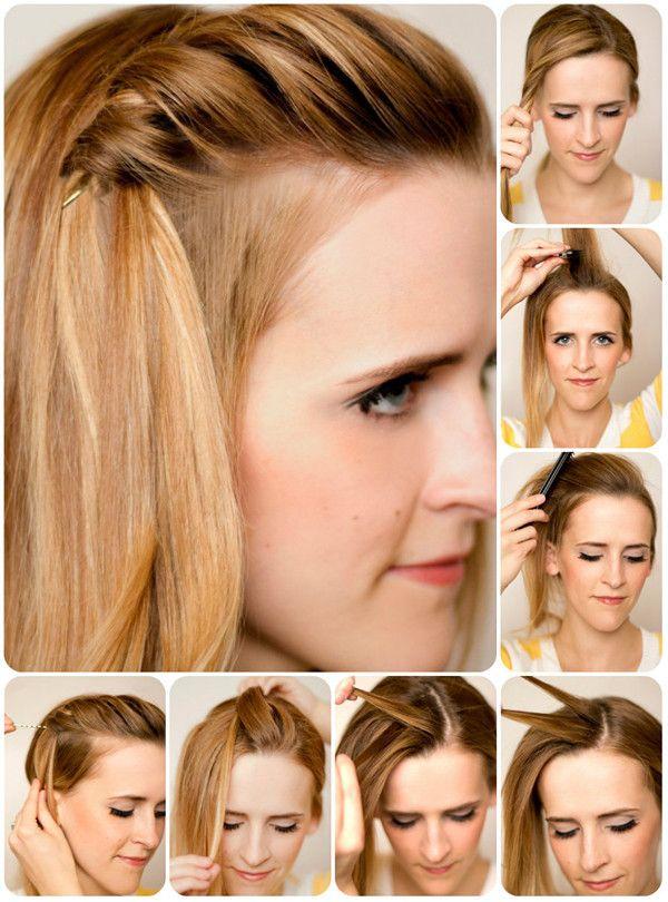 4 Beste Einfache und Modische Frisuren-Ideen für Feste im Herbst 2013 (Try Girl)