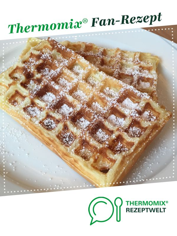 "Belgian waffles ""the special""   – Thermomix"