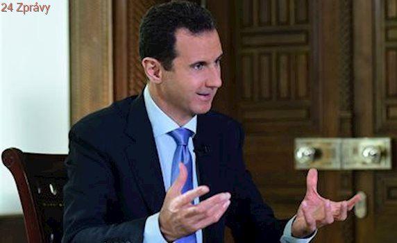 Asad je připraven jednat o čemkoli. Po Aleppu je na cestě k vítězství, tvrdí
