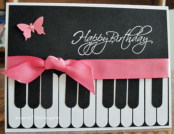65 Best Cards Music Images On Pinterest Masculine Cards Card