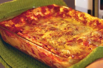 Lasagna (Microwave Recipe)