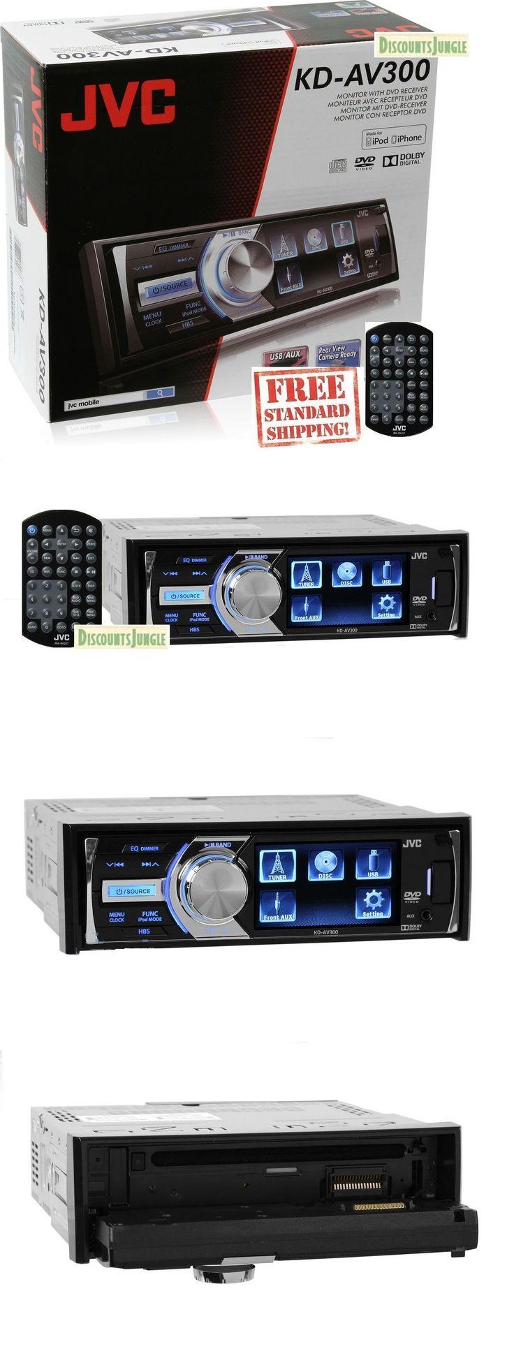 Car Audio In-Dash Units: New Jvc Kd-Av300 Single Din 3 Lcd Dvd Cd Usb Aux Fm Car Stereo Jvc Kdav300 -> BUY IT NOW ONLY: $109.9 on eBay!