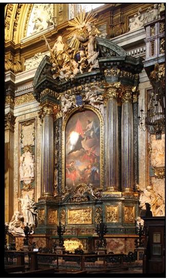 Chiesa del Gesù, capella di Sant'Ignazio, Andrea Pozzo