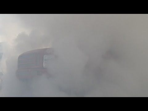 Cummins VS Power Stroke - Tug-o-war Burnout