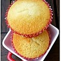 Muffins à la vanille