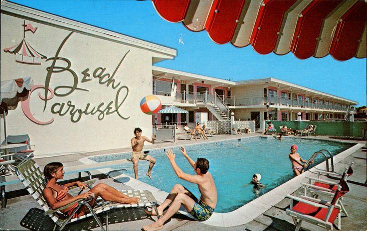 Beach Carousel Motel & Efficiencies, Virginia Beach, Virginia | 출처: SwellMap