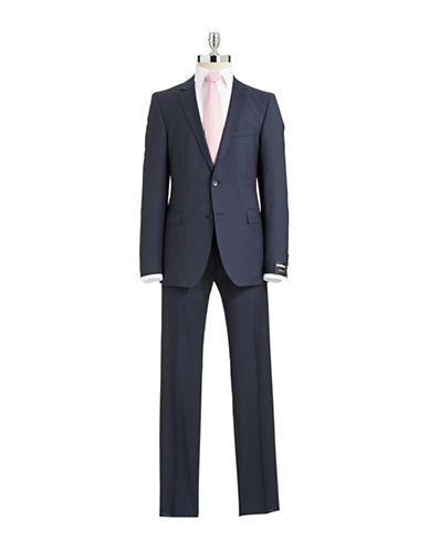 STRELLSON Checkered Suit Set - Fashion Deals