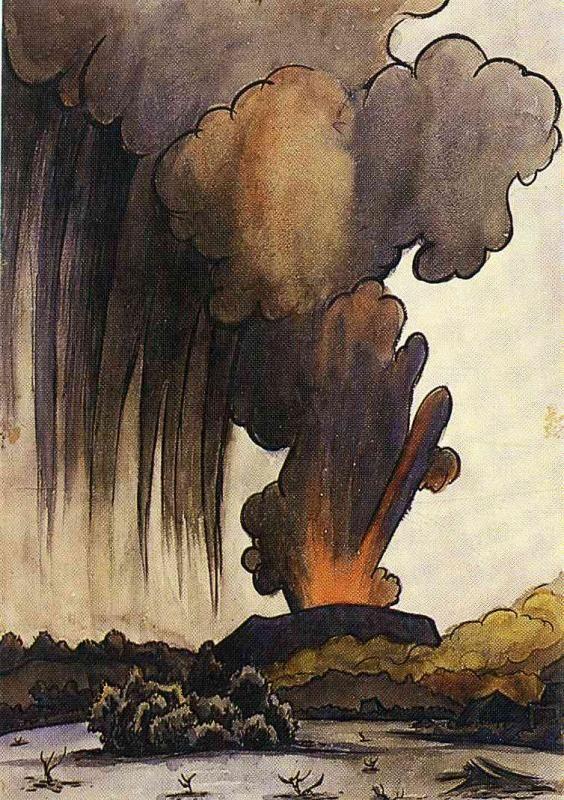 Диего Ривера. Взрыв