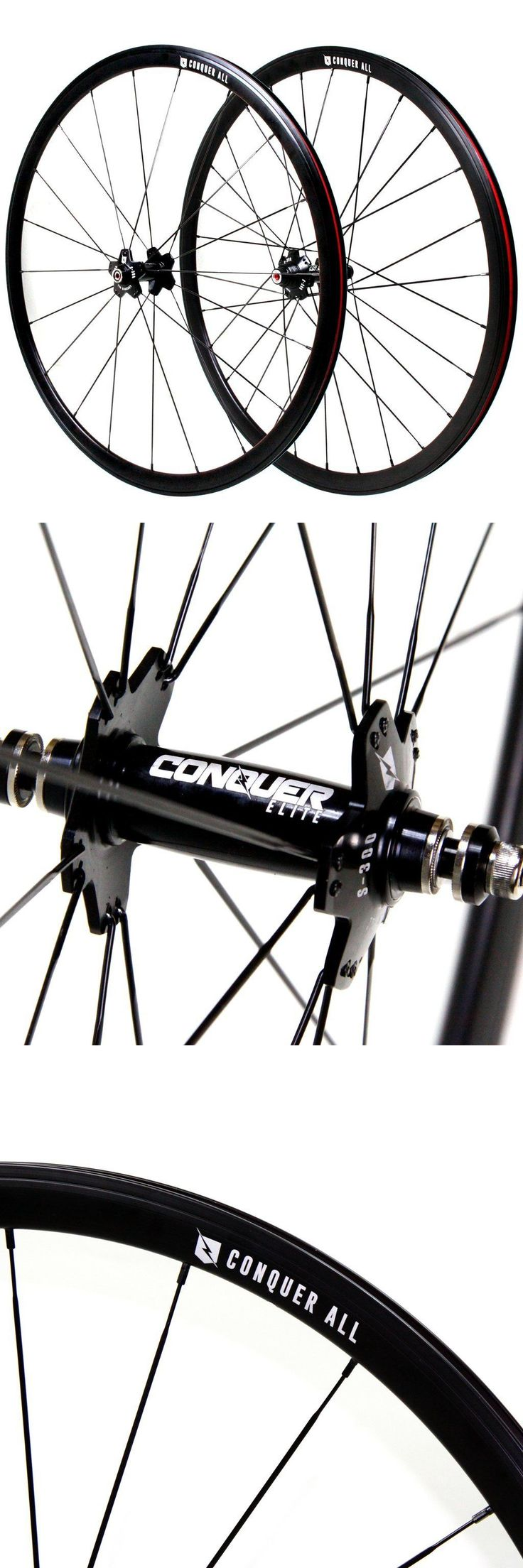 Other Bike Components and Parts 57267: Conquer S-300 Fixed Gear Wheelset Drilling: Front 20 Rear 28 -> BUY IT NOW ONLY: $179.99 on eBay!
