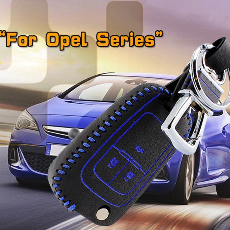 car key case cover for Opel Meriva 2013 mpv opel zafira Insignia 2013 astra 2014 Genuine Leather Car Key Cover wallet holder #Affiliate