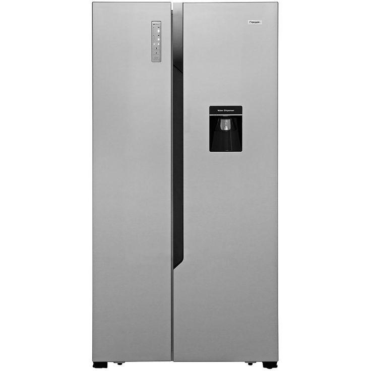MS91515DFF_SI   Fridgemaster Fridge Freezer   ao.com 64cm depth