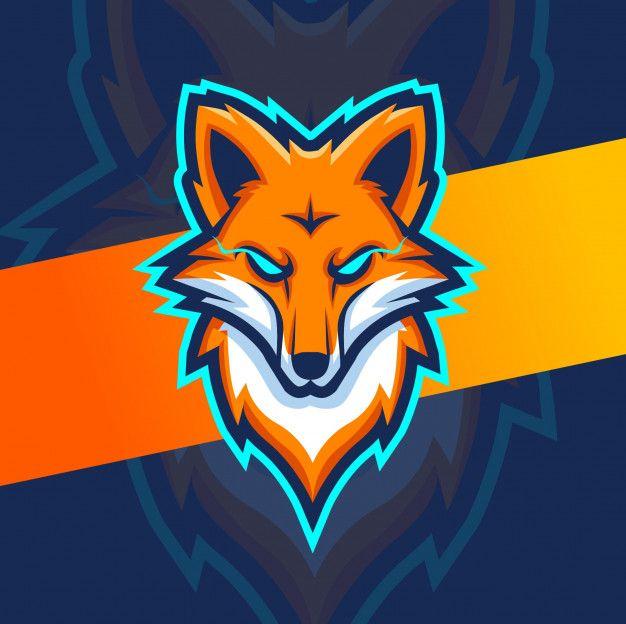 Fox Head Mascot Esport Logo Picture Logo Photo Logo Design Retro Logos