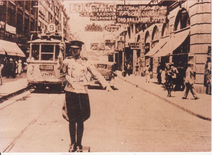 Paseo Ahumada, Santiago de Chile, año 1930