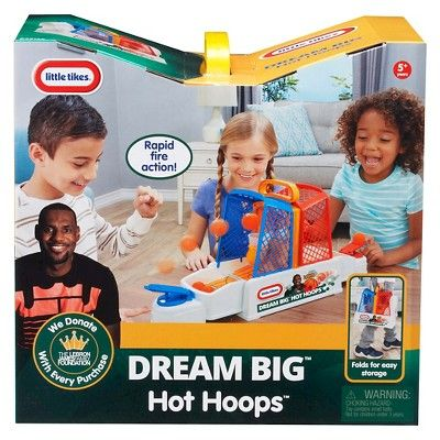 Little Tikes LeBron James Family Foundation Hot Hoops Game, Mutilcolored