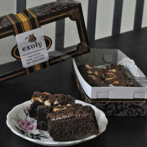 Brownies Lumer Coklat