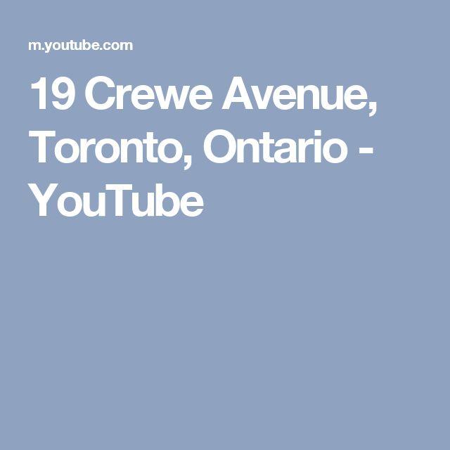 19 Crewe Avenue, Toronto, Ontario - YouTube