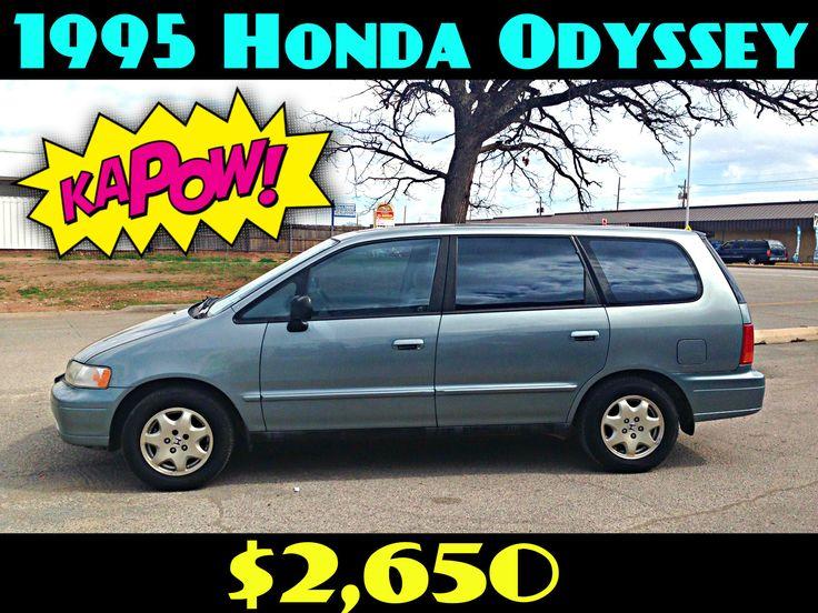 1995 HONDA ODYSSEY LX $2,650  218K MILES, AUTO, 4-CYL., 2.2L, 3RD ROW SEATING, 4DR, 20 MPG, SUPER CLEAN, AC & HEAT!   LOCATED AT 701 SW LEE BLVD. LAWTON, OK. PLEASE CALL EMMA FOR MORE INFO: 580-585-1662.