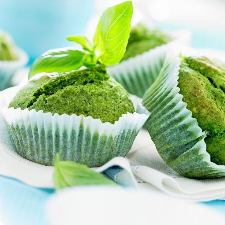 Découvrez la recette Muffin au pesto sur cuisineactuelle.fr.
