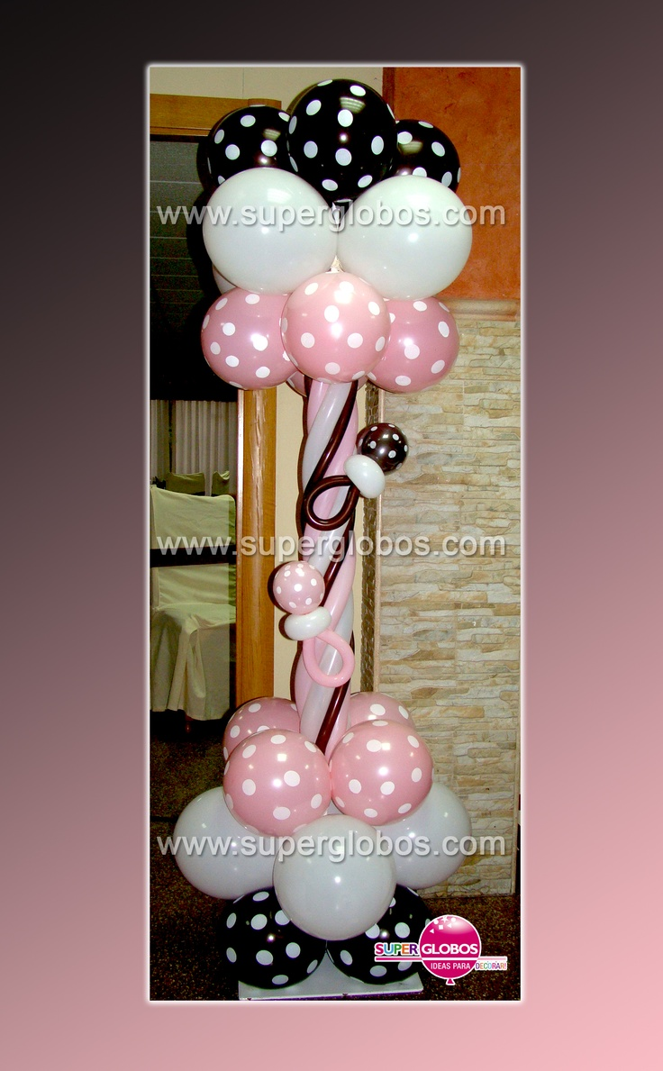 449 best images about balloons baby showers on pinterest for Decoracion con globos