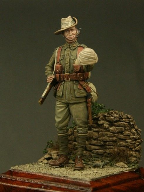Private, 11bn Australian Imperial Force, Gallipoli. Click on the pic for more figures from Tommy's War