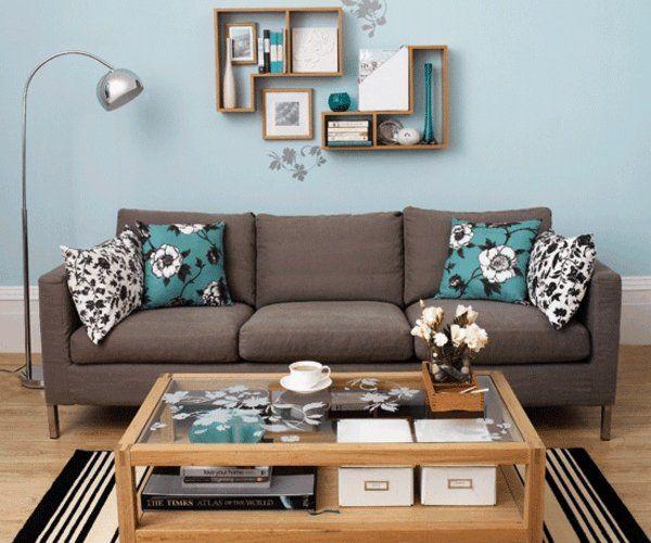 30 id es d am nagement de salon moderne couleurs vives for Amenagement de salon moderne