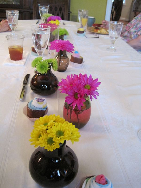 Owl Themed Baby Shower Flower Centerpieces - Get The Look For Less