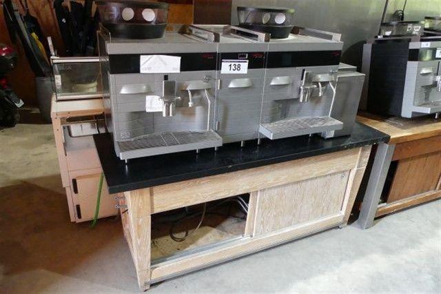 Industrie-Kaffeemaschine Cafina Alpha - Gastronomieequipment und Küchengeräte - Karner & Dechow - Auktionen