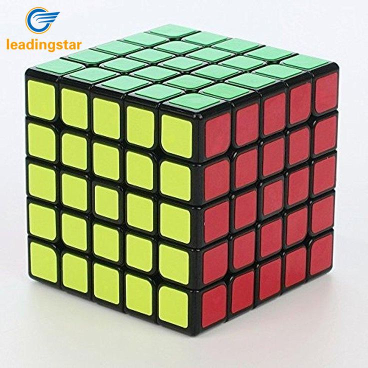 LeadingStar Yuxin Fifth order Magic Cube Kirin 5x5x5 Puzzle Cube Black gift for children  zk25 #Affiliate