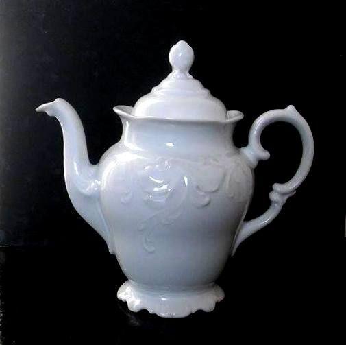 Wawel porcelanowy dzbanek, zdobienia