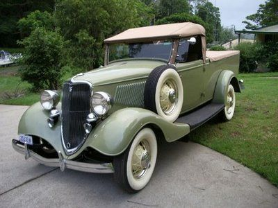 """Rarities from the land Down Under, Ford Cabriolet """"Ute"""". Gorgeous!"""