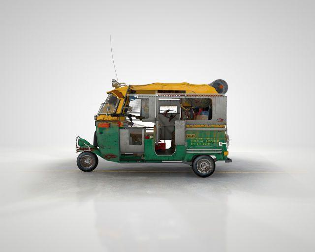 Auto Rickshaw Zombie Survival Vehicle