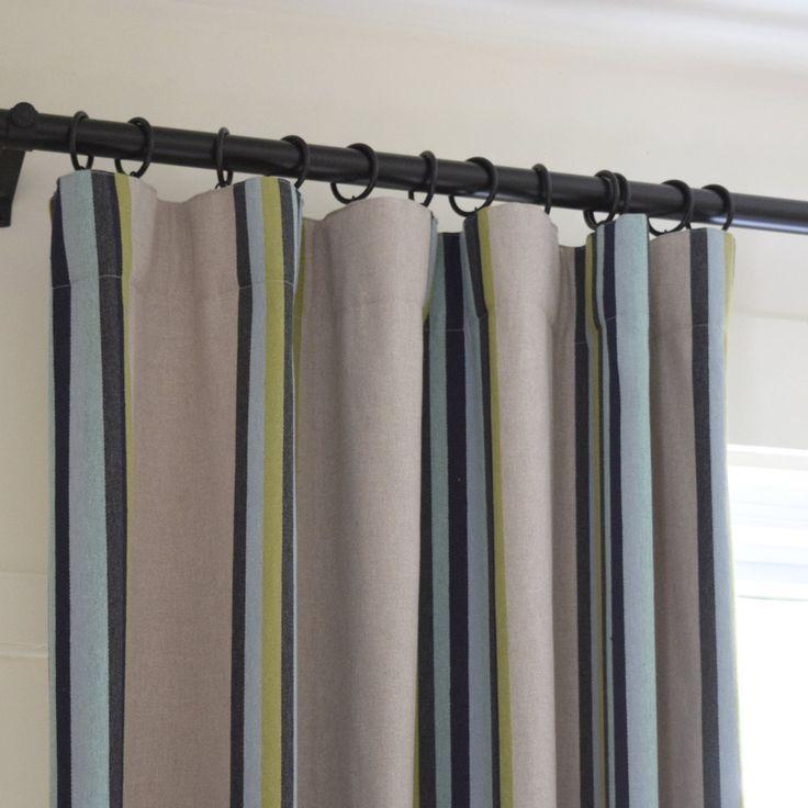 1000 id es sur le th me rideaux ray s sur pinterest rideaux de soie rideaux black out et - Rideau campagnard ...
