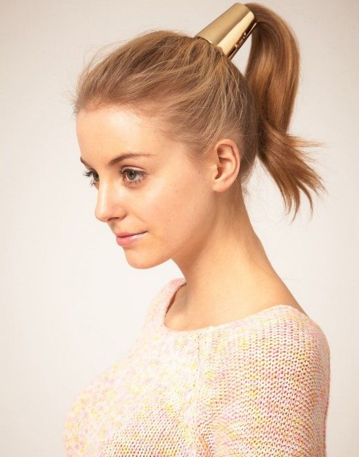 ponytail hairstyles 2012: Hair Cones, Gold Hair, Hair Ties, Asos Xl, Ponytail Ideas, Ponytail Hairstyles, Hair Accessories, Gold Accessories, Ponies Tail