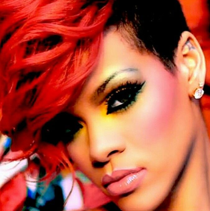 Pleasing 1000 Images About Kesha39S Closet Rihanna Dress Amp Hair Styles On Short Hairstyles Gunalazisus