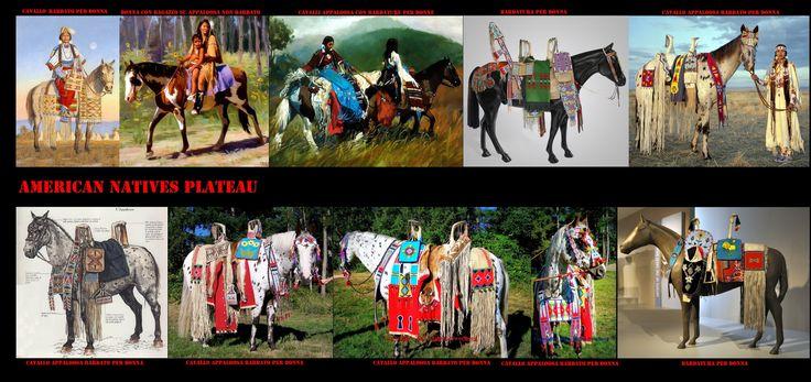 Con l'ingresso del cavallo nella cultura del Plateau (inizi del XVIII sec.) si modificarono sensibilmente le interazioni fra i vari gruppi etnici. Si ebbe una notevole espansione delle attività stagionali, in particolar modo del commercio. Con l'aiuto del cavallo aumentò il volume e la distanza delle merci trasportate, il cavallo stesso divenne un apprezzato oggetto di scambio.