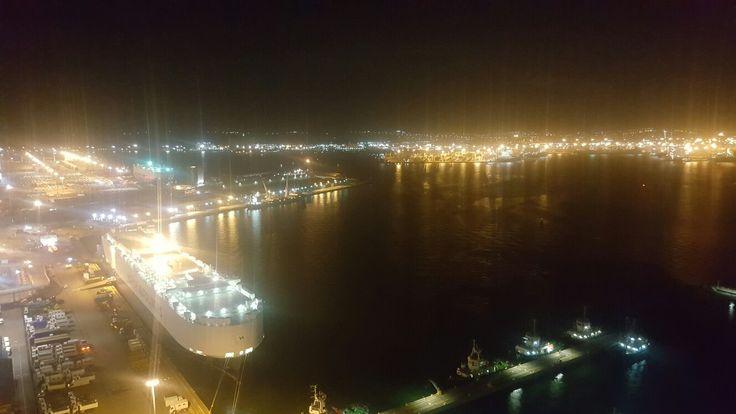 Night at Durban habour