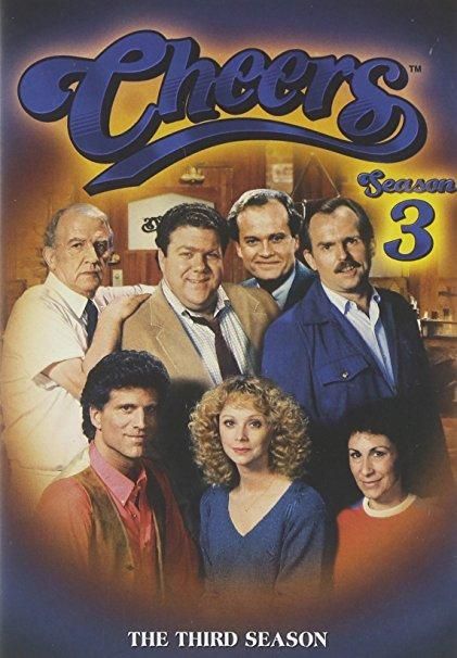 Ted Danson & Rhea Perlman & James Burrows-Cheers - The Complete Third Season