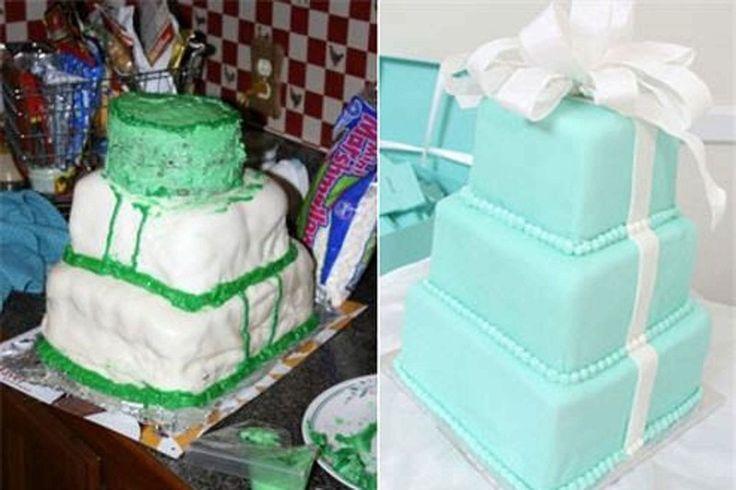 """3. """"Я всегда хотела свадебный торт в виде коробочек от Tiffany"""""""