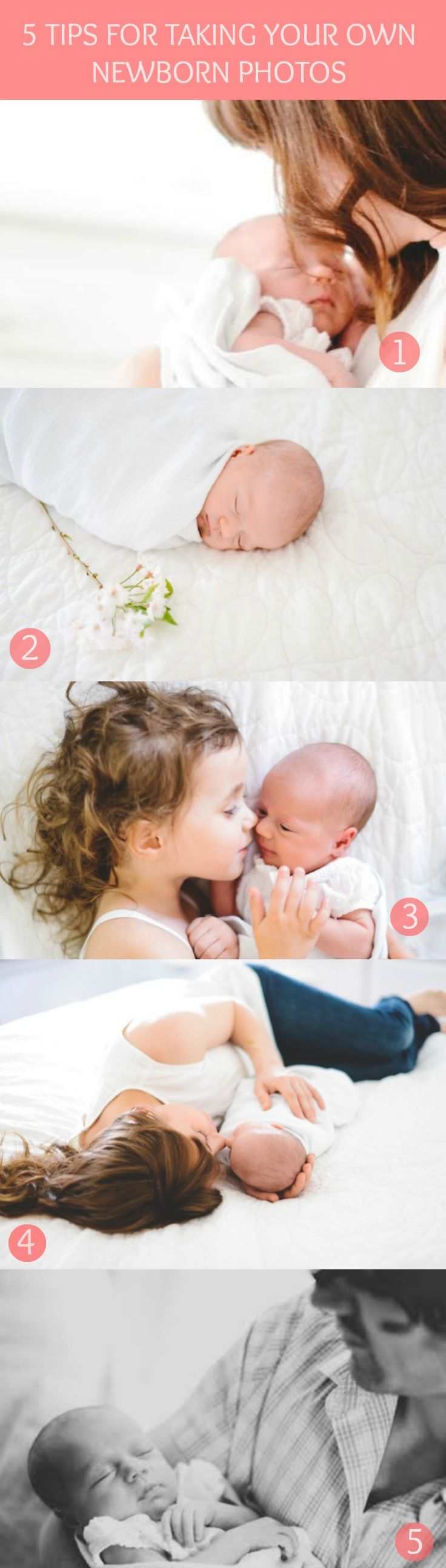5 Tips for Taking Your Own Newborn Photos