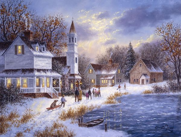 96 best images about art seasons winter on pinterest for Dennis mill cabin