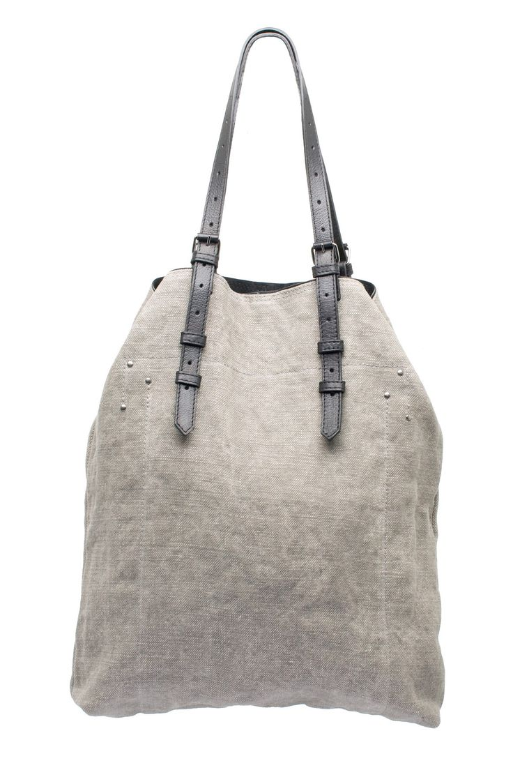 jerome dreyfuss - grey tote #style #fashion #accessories