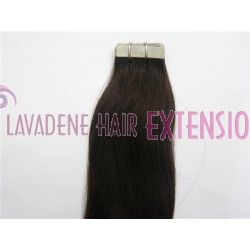 Colour: #1b Darkest Brown Style : Straight Weight: 60grams Length:  20 inches 20pces in 1 pack
