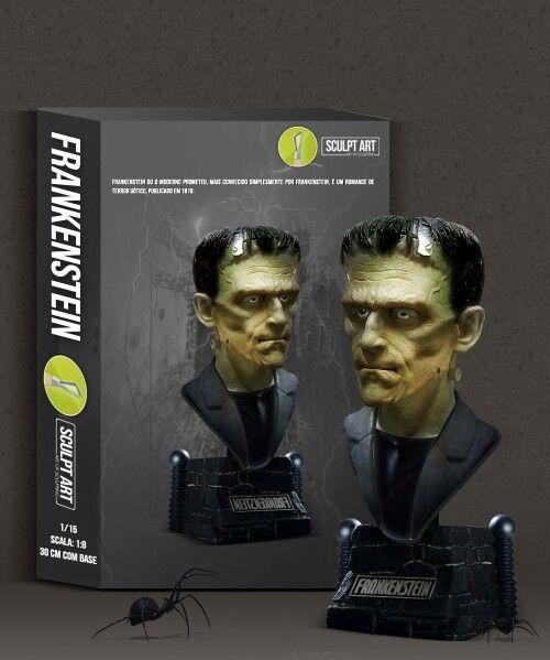 Frankenstein 1:8 by Fábio Sousa