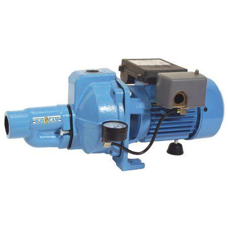 BurCam 503321 Convertible Cast Iron Jet Pump, 1/2 hp, 115V/230V, Blue