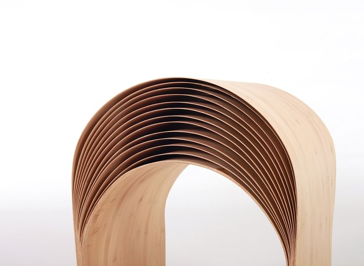 Wonderful Hangzhou Bent Bamboo Stool By Min Chen Photo Gallery