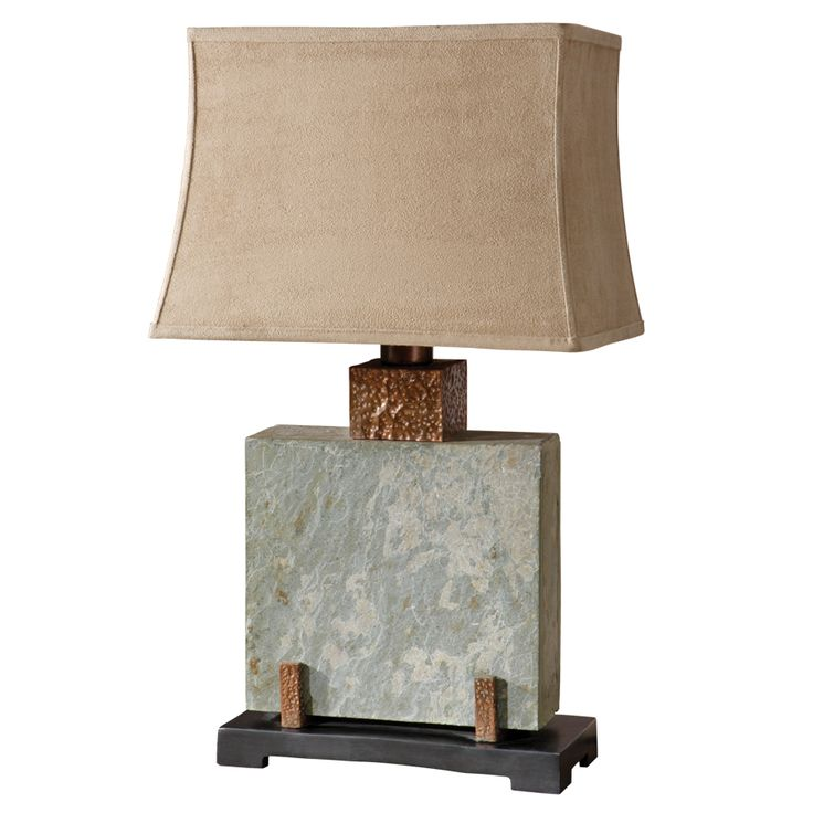 Global direct 28 75 in mixed material plug in incandescent outdoor table lamp