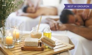 Groupon - $ 149 for Couples Spa Package at Beauty Retreat Studio ($285 Value) in Beauty Retreat Studio. Groupon deal price: $149